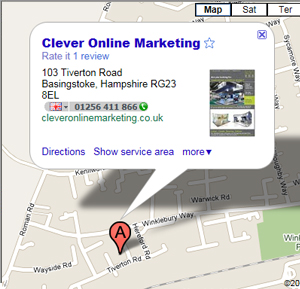 Clever Online Marketing Google Maps Business Listing